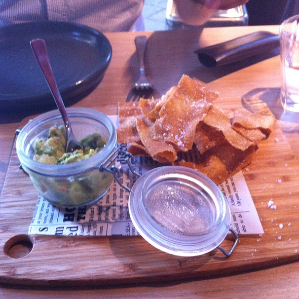 Avocado Dip And Tortilla Crisps @ Public House Kitchen And Bar