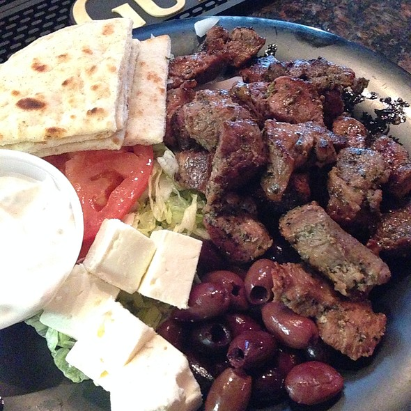 Souvlaki Platter @ Mike And Tonys