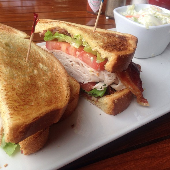 Turkey Club  ( Turkey Lettuce ,Bacon, Tomato, And Mayo Served On Texas Toast - Wreckers at Gaylord Palms Resort, Kissimmee, FL