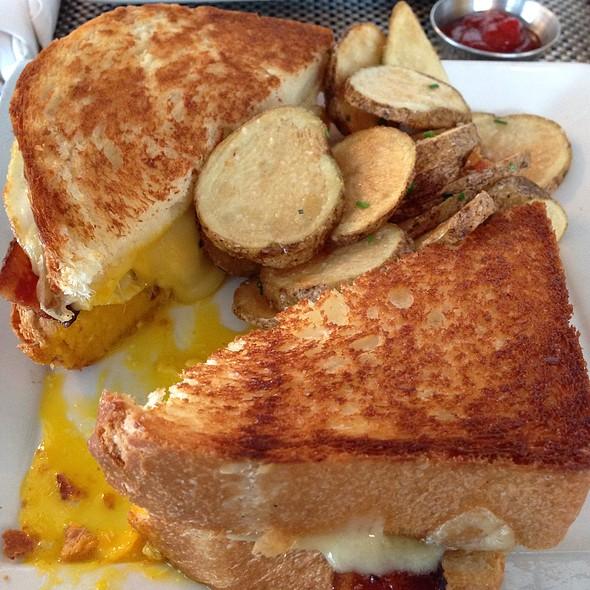 Egg And Brie Brioche Sandwich @ Paris Bistro