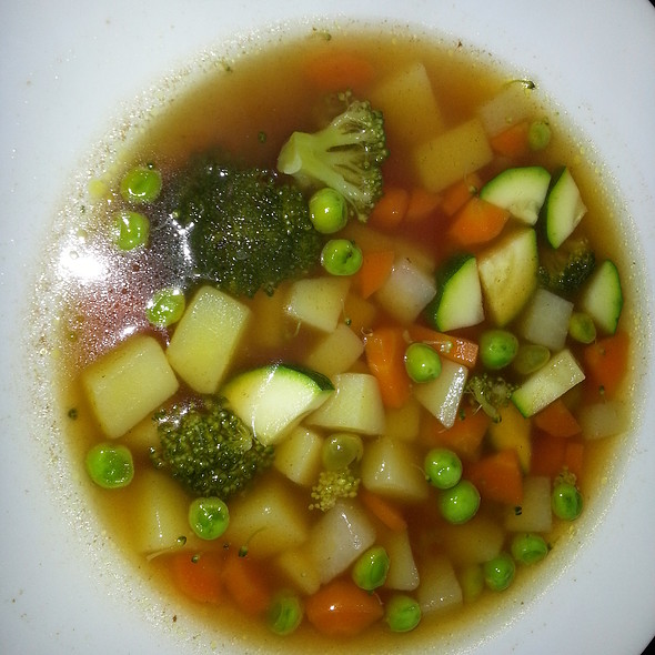 Vegetable Soup @ Home