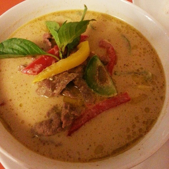 Beef With Green Curry @ Coconut