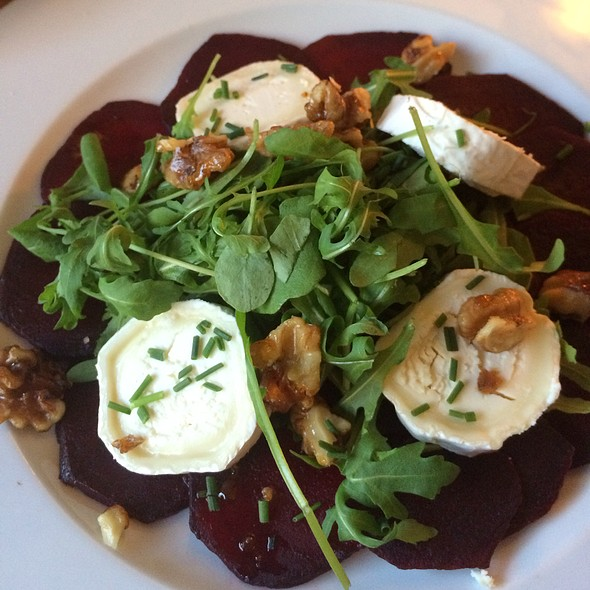 Beet Carpaccio @ cafe november