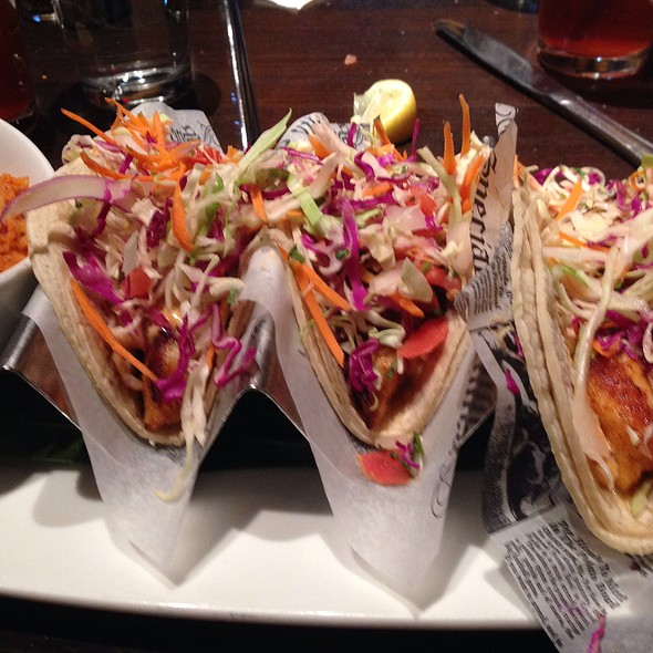 Blackened Tilapia Tacos - The Happ Inn, Northfield, IL