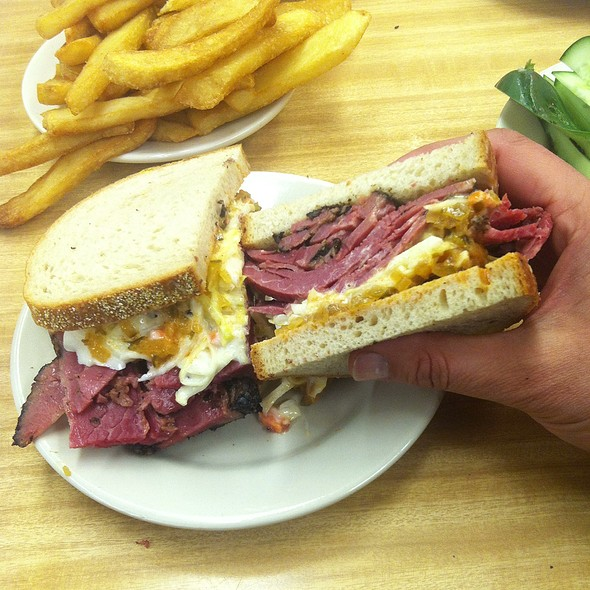 Pastrami With Cole Slaw & Russian Dressing