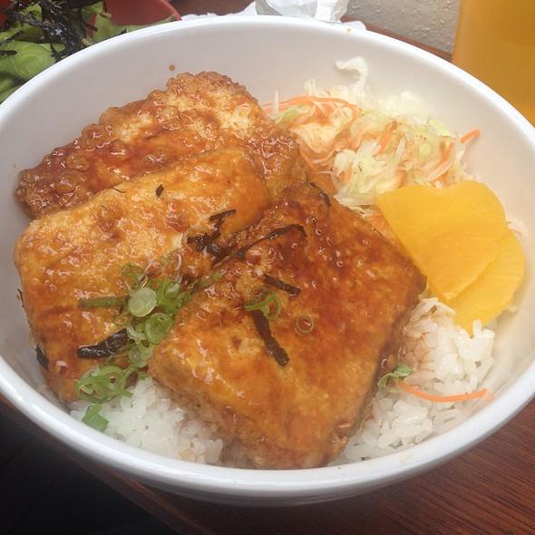 Teriyaki Tofu Don @ Shyun