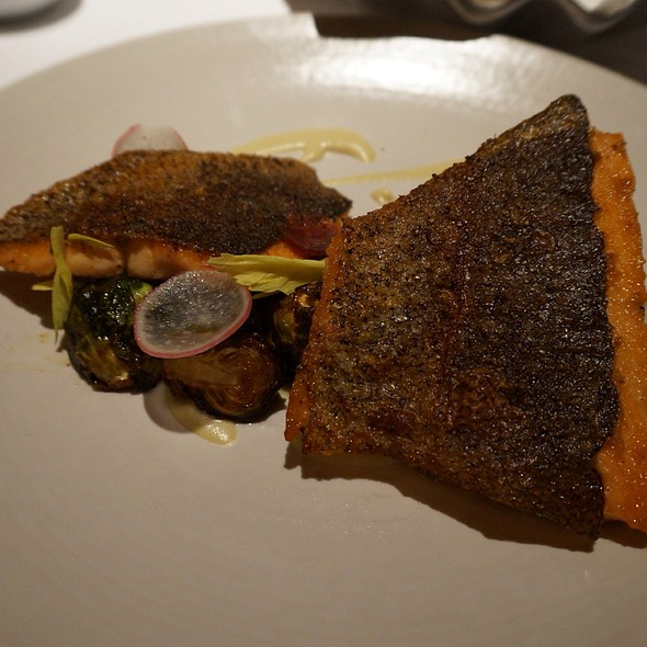 Seared Mt. Lassen Trout