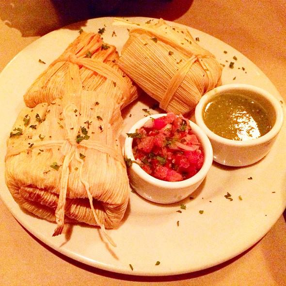 Homemade Tamale Trio - Cava Restaurant & Bar, Santa Barbara, CA
