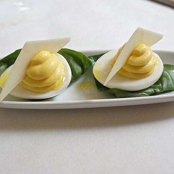 Truffled Deviled Eggs - Mistral - Boston, Boston, MA