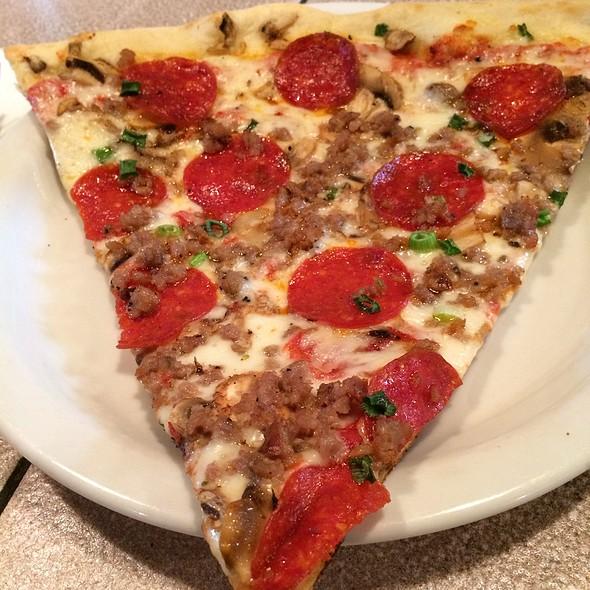 Meat Combo Slice @ Za Pizza