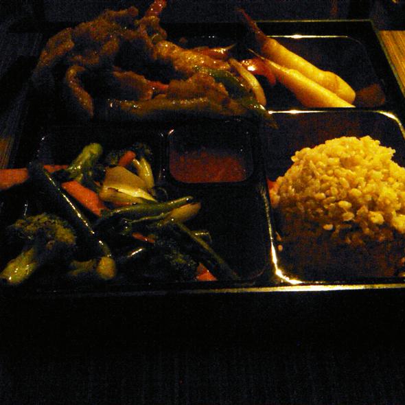 Crispy Flounder Fillet Bento Box @ Box