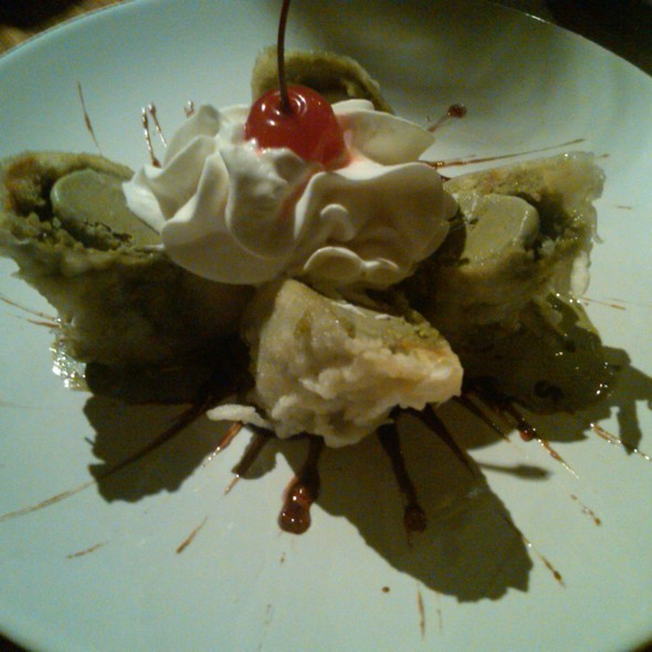Tempura Fried Ice Cream @ Box