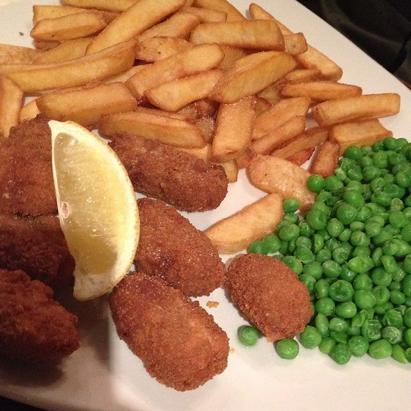 Scampi and Chips @ The Speckled Hen