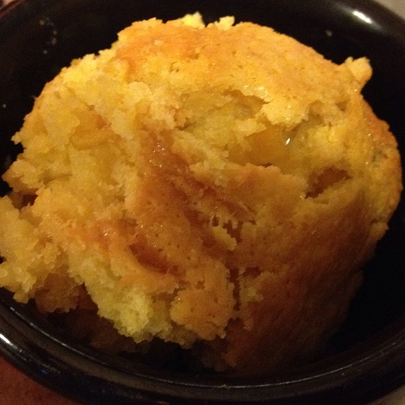Cornbread Souffle at Shiver's BBQ in Homestead, FL