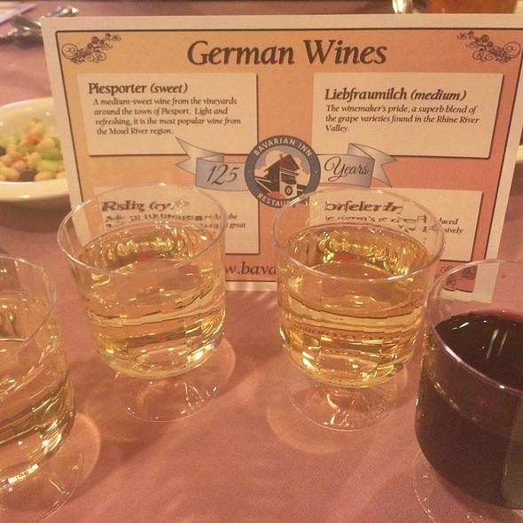 German Wine Tasting @ Bavarian Inn Restaurant