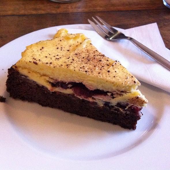 Chocolate Cherry Cake @ Maria