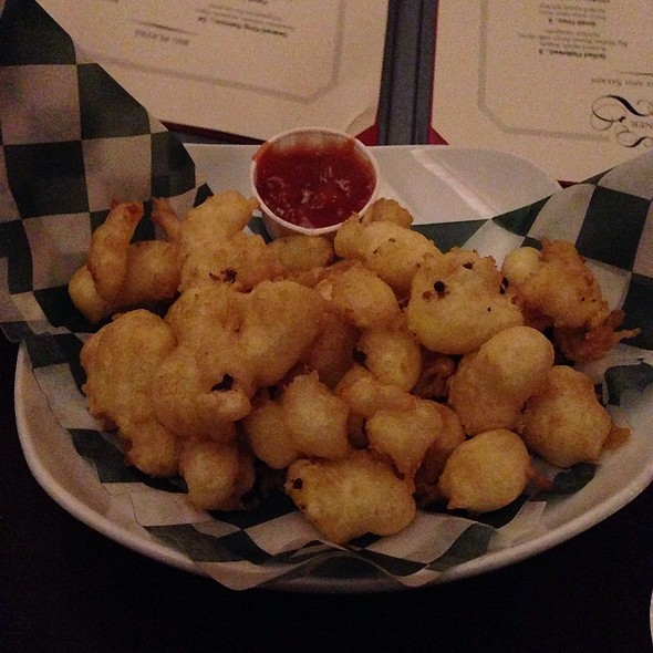 Castle Rock Fried Organic Cheddar Cheese Curds - Red Stag Supperclub, Minneapolis, MN
