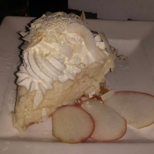Coconut Cream Pie @ Serious Pie