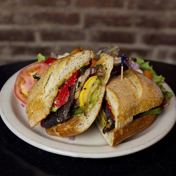 The Hearty Garden Sandwich  @ Houndstooth Pub