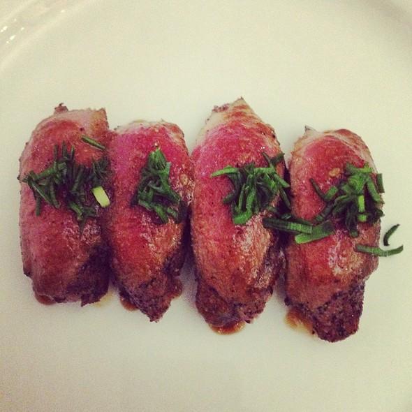 Venison @ Miya's Sushi
