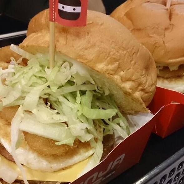 Pork Burger @ Ninja Joe