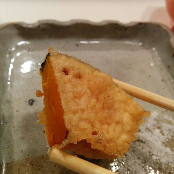 Tempura Pumpkin @ Tempura Tenmatsu