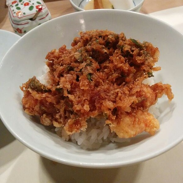 Tendon (tempura rice bowl) @ Tempura Tenmatsu