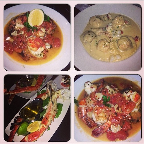 Shrimp Scampi - Prime Italian, Miami Beach, FL