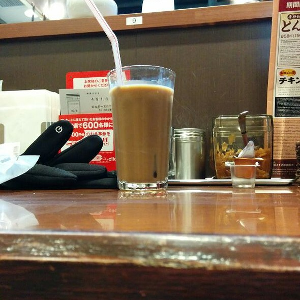 Iced Coffee @ CoCo壱番屋 渋谷区宇田川町店