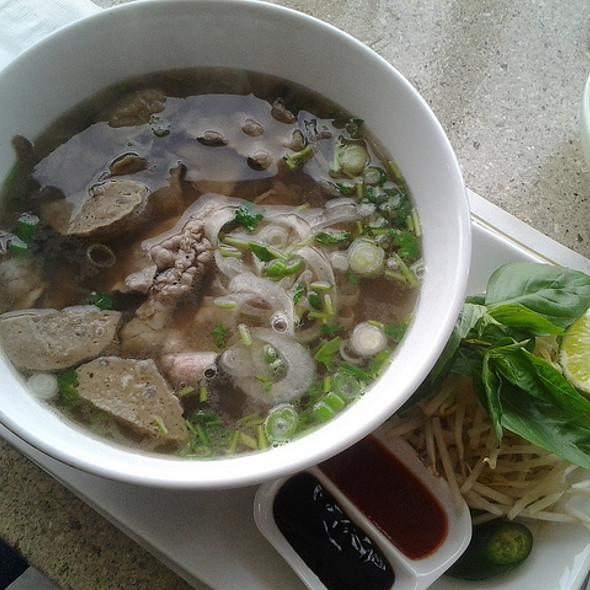 Beef & Vietnamese meatball Pho @ Basilic Vietnamese Grill LLC