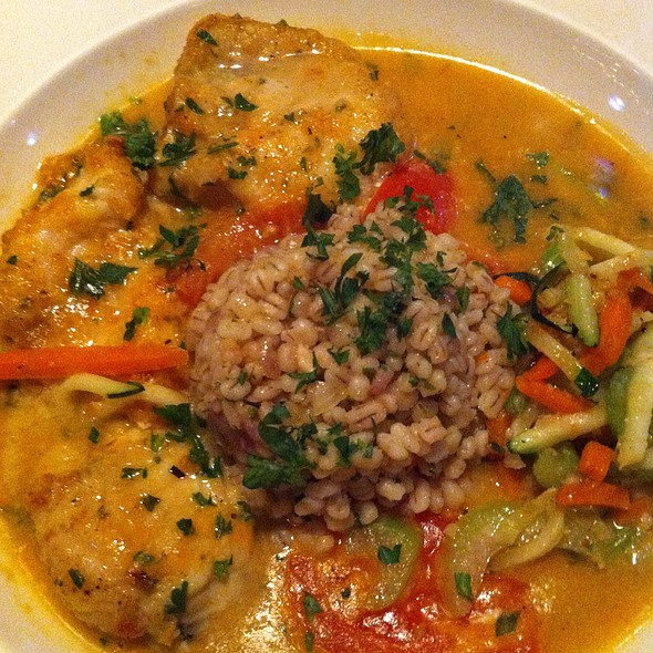 Monkfish With Barley - Chef Tony's - Bethesda, Bethesda, MD