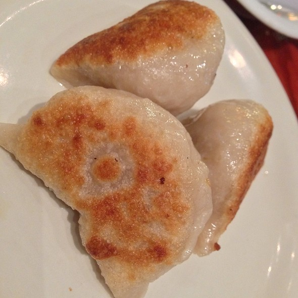 Pan-Fried Dumplings @ X.O. Taste