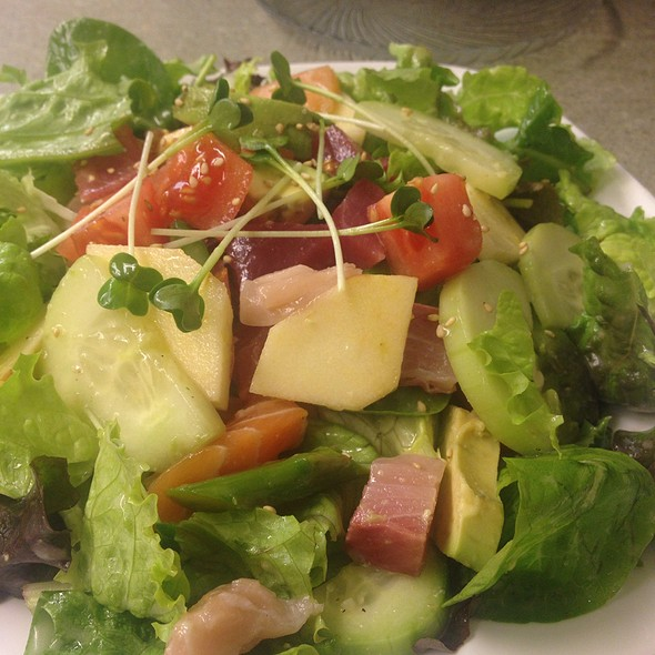 Brown Rice Sushi Salad @ Homma's Brown Rice Sushi