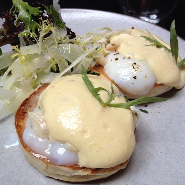 Egg Banedictine With Crab !!!!  @ NoMad Restaurant