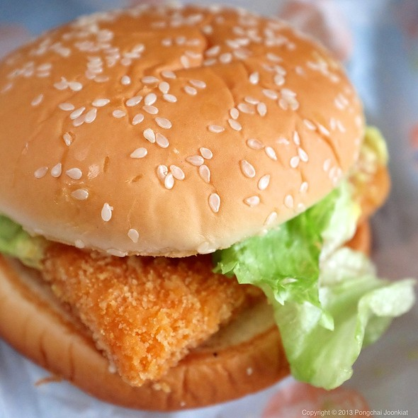 Krispy Fish Burger