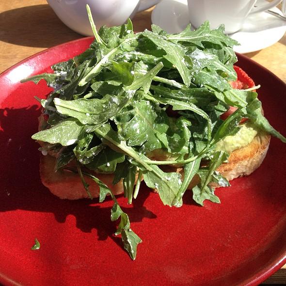 breakfast bruschetta @ No 4 Blake Street
