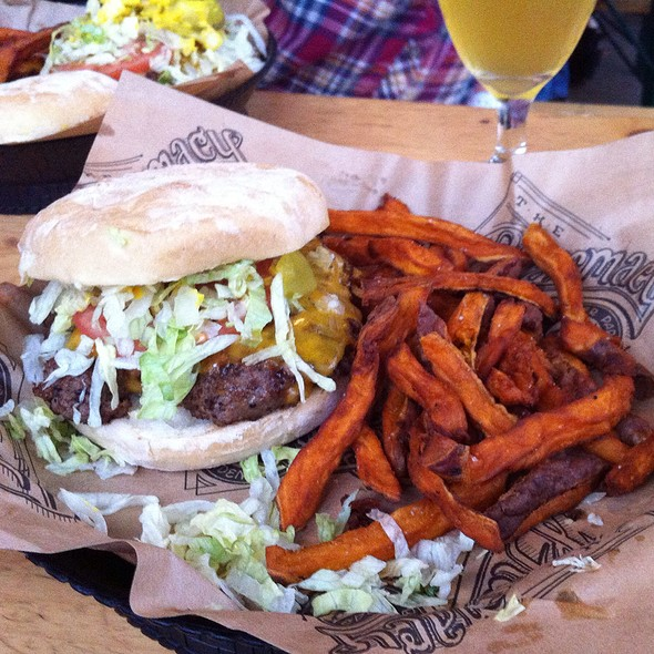 Chad alligood foodspotting - The pharmacy burger parlor beer garden ...