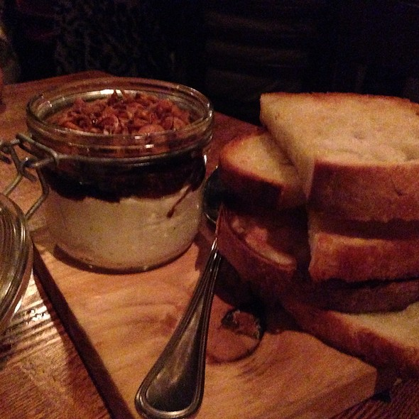 Ricotta And Fig Jelly Spread With Toasted Bread - In Riva, Philadelphia, PA