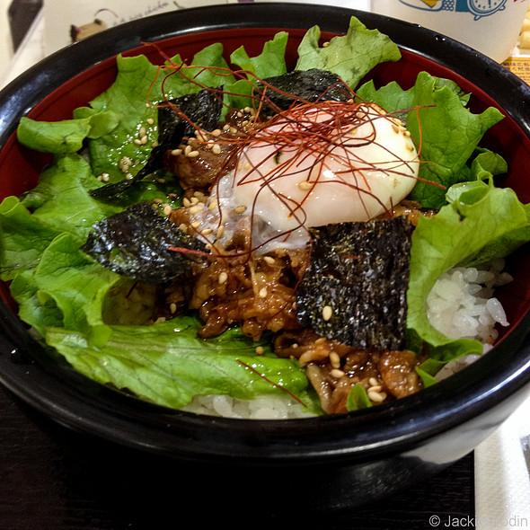 Beef Rice Bowl @ Tokyo Tower