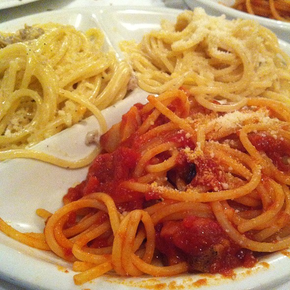 Noce And Amatriciana Spaghetti