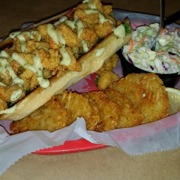 Crayfish Po Boy @ shuck's fish house & oyster bar