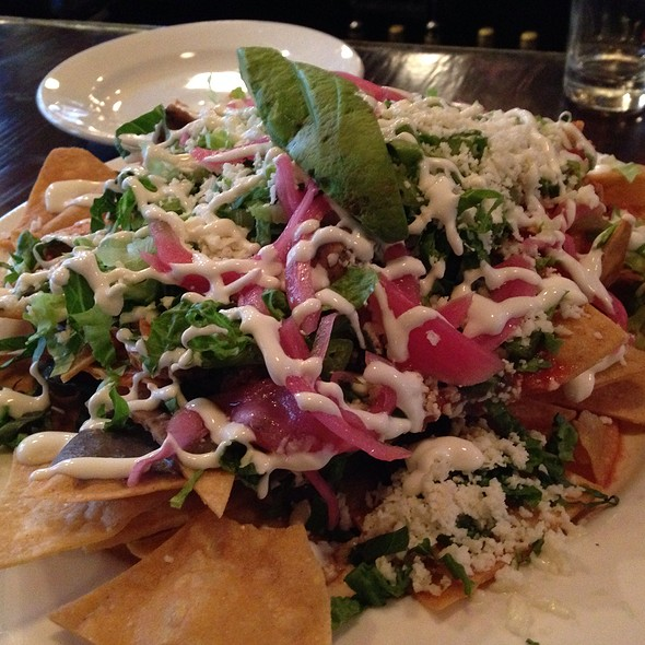 Chicken Tinga Nachos - Perch Pub, Philadelphia, PA
