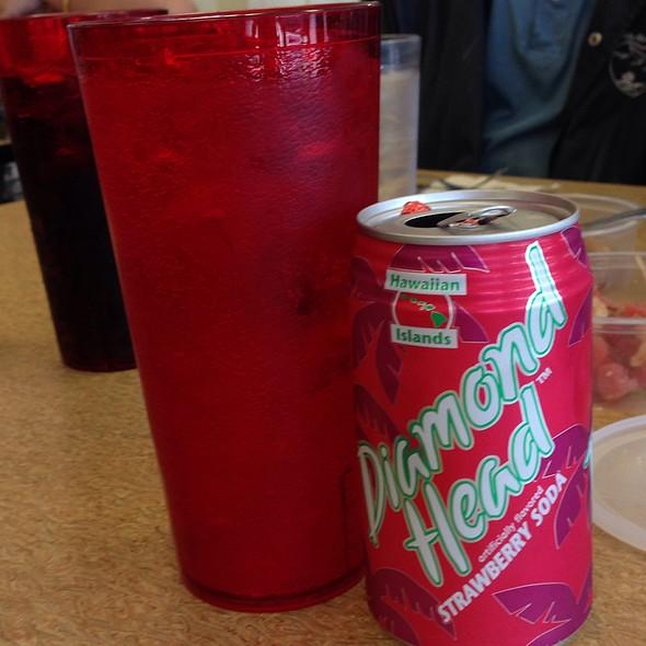 Strawberry Diamond Head Soda