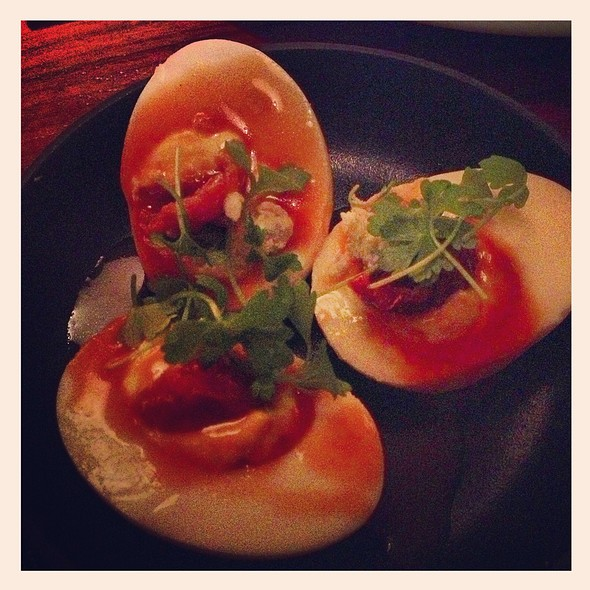 Deviled Eggs @ Press St. Helena