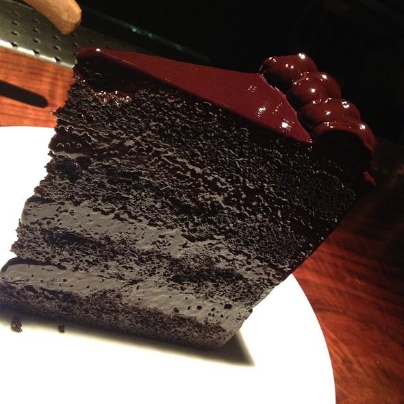 Chocholate Cake @ Press St. Helena
