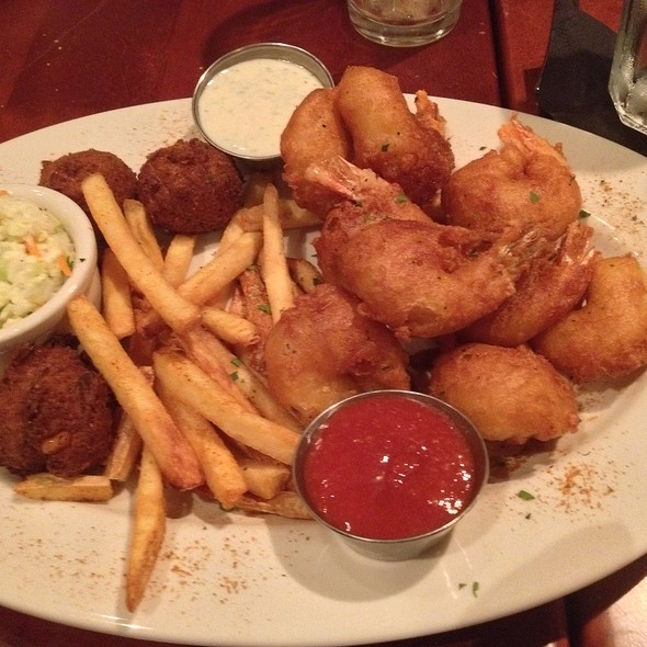 Sam Adams Beer Battered Shrimp Platter - Mitchell's Fish Market - Waterfront - Pittsburgh, Homestead, PA
