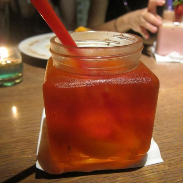 Lychee Iced Tea @ The PlayGround
