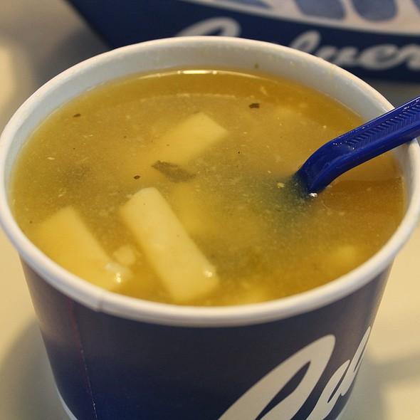 Chicken Noodle Soup @ Culver's