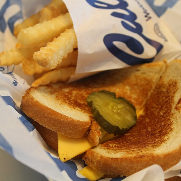 Grilled Cheese & French Fries @ Culver's