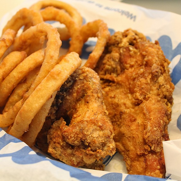Fried Chicken Basket @ Culver's
